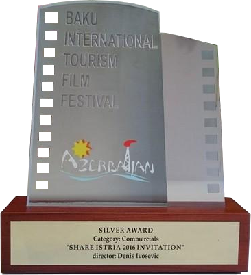 Silver award Baku int tourism film za 2016